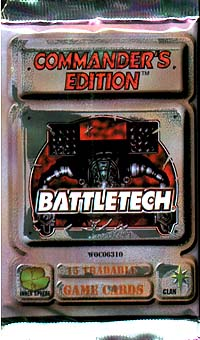 BattleTech: Commander`s Edition [booster] Серия: BattleTech инфо 3906i.